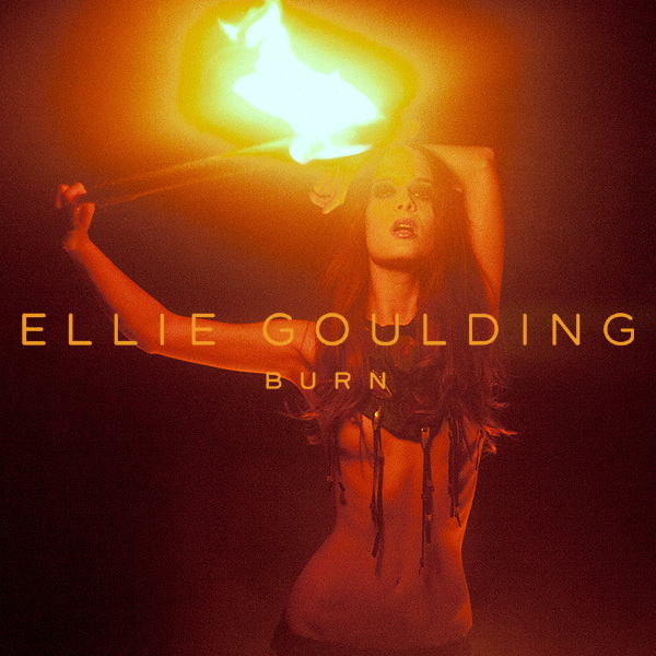 Cover Artwork Remix of Ellie Goulding Burn