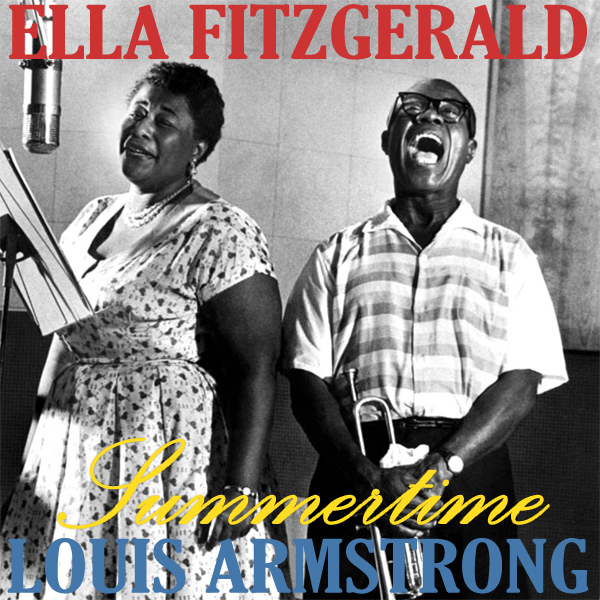 Original Cover Artwork of Ellla Louis Summertime