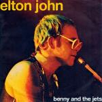 Original Cover Artwork of Elton John Benny And The Jets