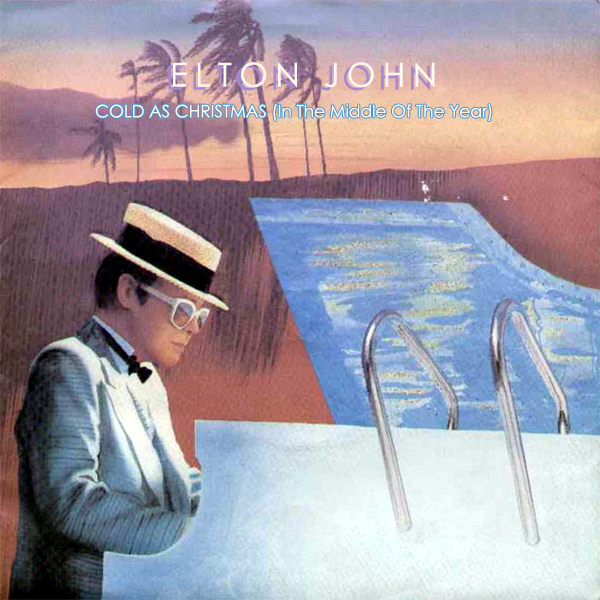 elton john cold as christmas 1