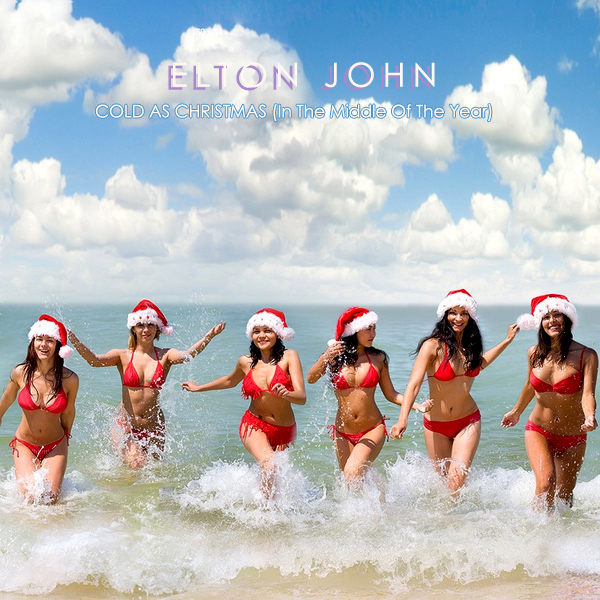 elton john cold as christmas 2