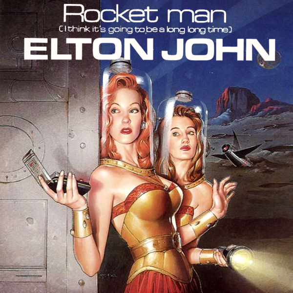 Cover Artwork Remix of Elton John Rocket Man