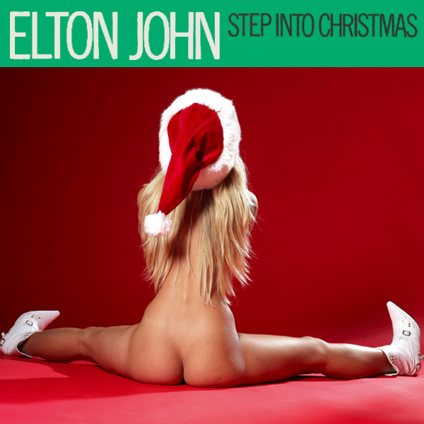 Cover Artwork Remix of Elton John Step Into Xmas