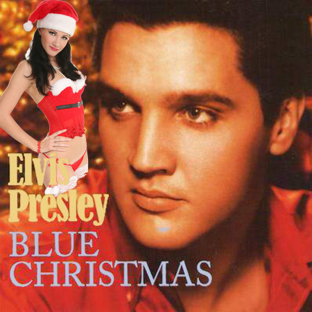 elvis presley blue christm2