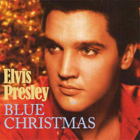 elvis presley blue christma