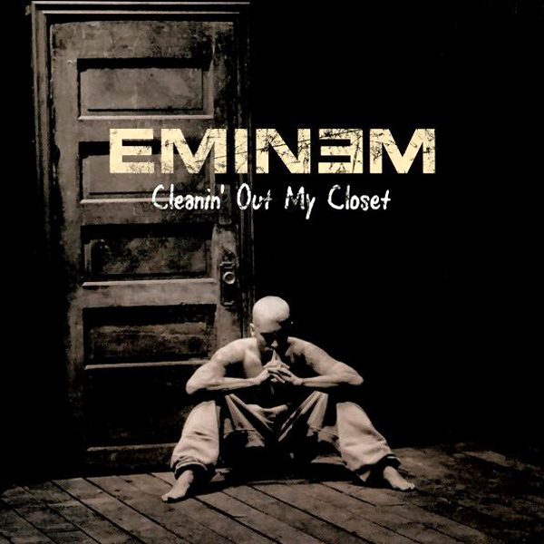 Original Cover Artwork of Eminem Cleaning Closet