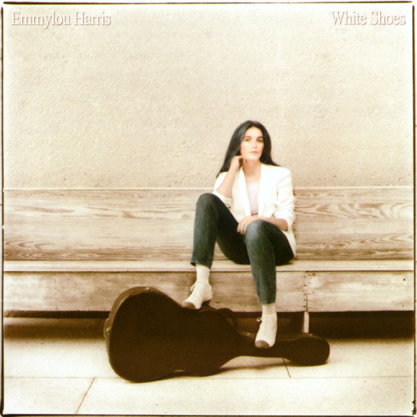 Original Cover Artwork of Emmylou Harris White Shoes