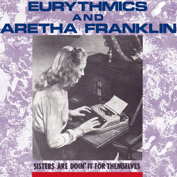 Original Cover Artwork of Eurythmics Aretha Sisters