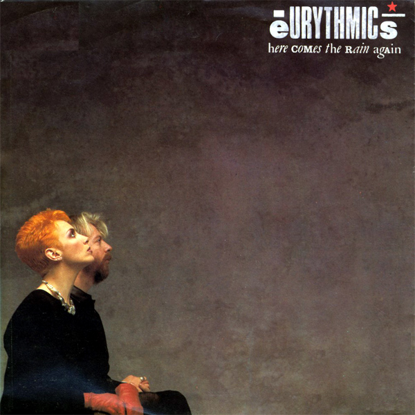 Original Cover Artwork of Eurythmics Here Comes Rain