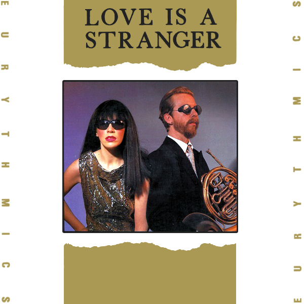 Original Cover Artwork of Eurythmics Love Is A Stranger