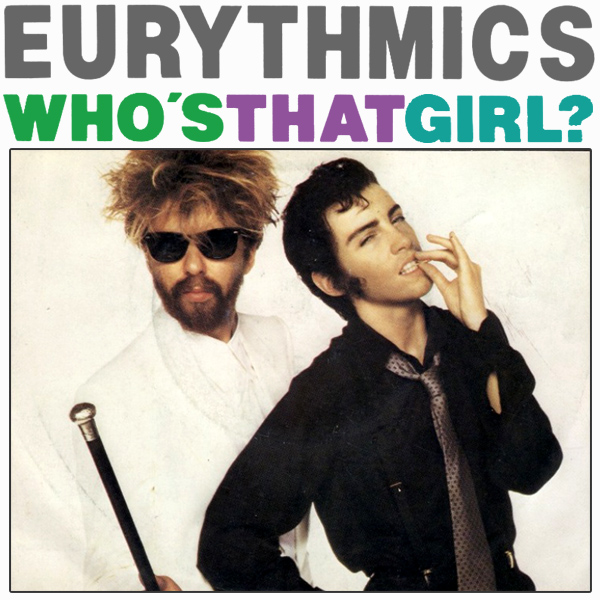 eurythmics whos that girl 1