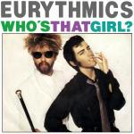 Original Cover Artwork of Eurythmics Whos That Girl