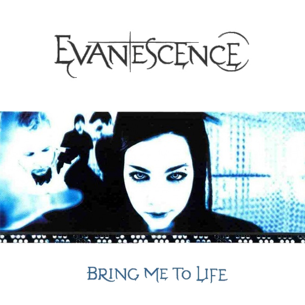 Original Cover Artwork of Evanescence Bring Me To Life