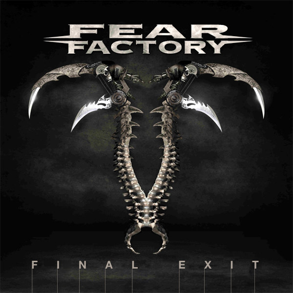 Original Cover Artwork of Fear Factory Final Exit