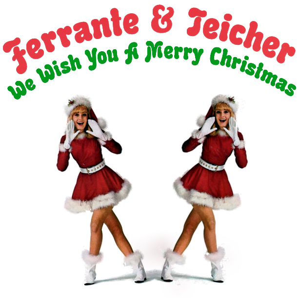 Original Cover Artwork of Ferrante Teicher Merry Xmas