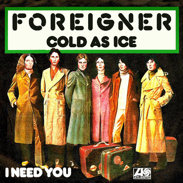 foreigner cold as ice 1