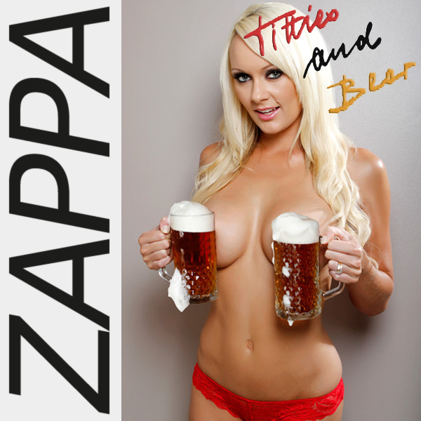 Cover Artwork Remix of Frank Zappa Titties Beer
