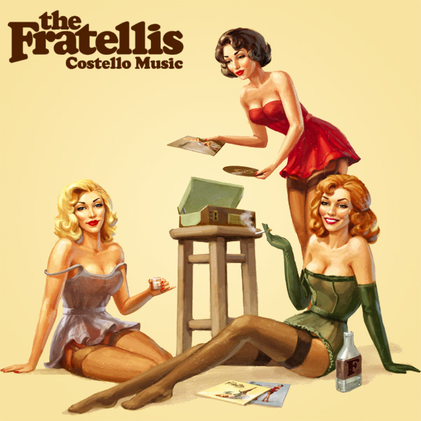 Original Cover Artwork of Fratellis Costello Music