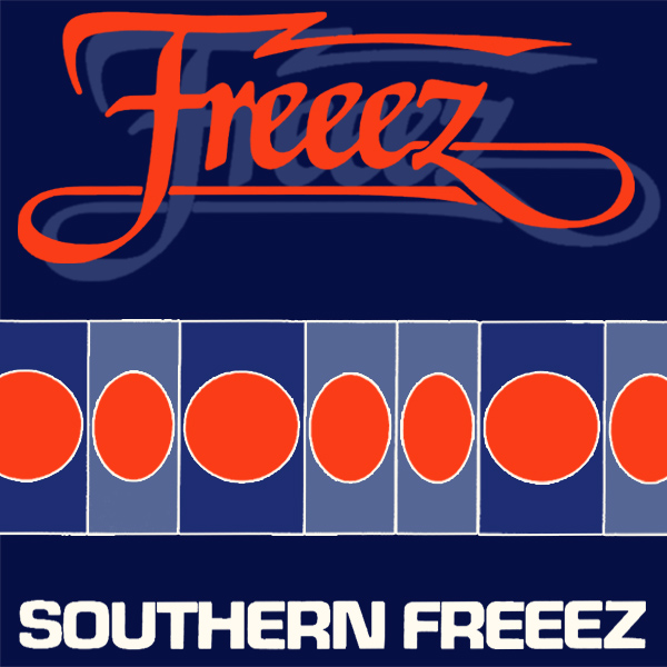 Original Cover Artwork of Freeez Southern Freeze
