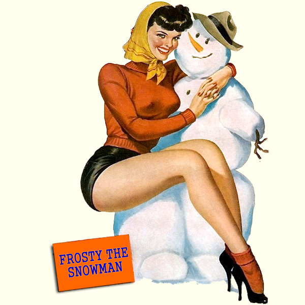 Original Cover Artwork of Frosty The Showman