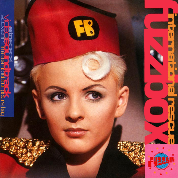 Original Cover Artwork of Fuzzbox International Rescue