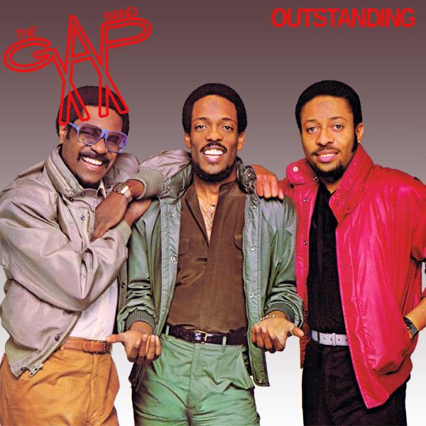 Original Cover Artwork of Gap Band Outstanding