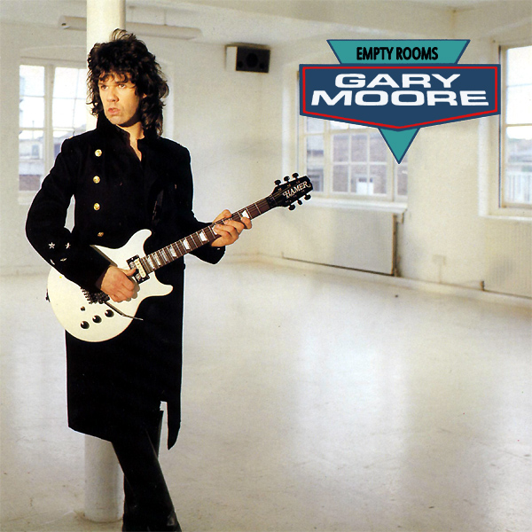 Original Cover Artwork of Gary Moore Empty Rooms