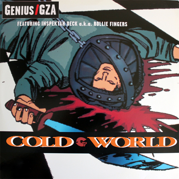 Original Cover Artwork of Genius Gza Cold World
