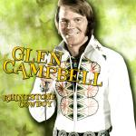 Original Cover Artwork of Glen Campbell Rhinestone Cowboy
