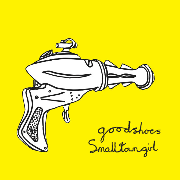 Original Cover Artwork of Good Shoes Small Town Girl