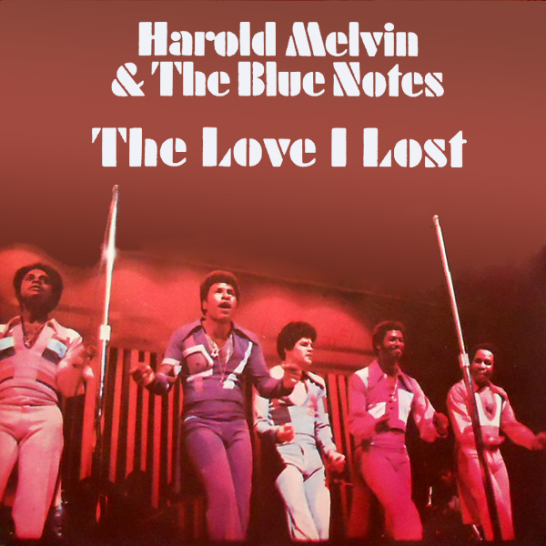 Original Cover Artwork of Harold Melvin Love Lost