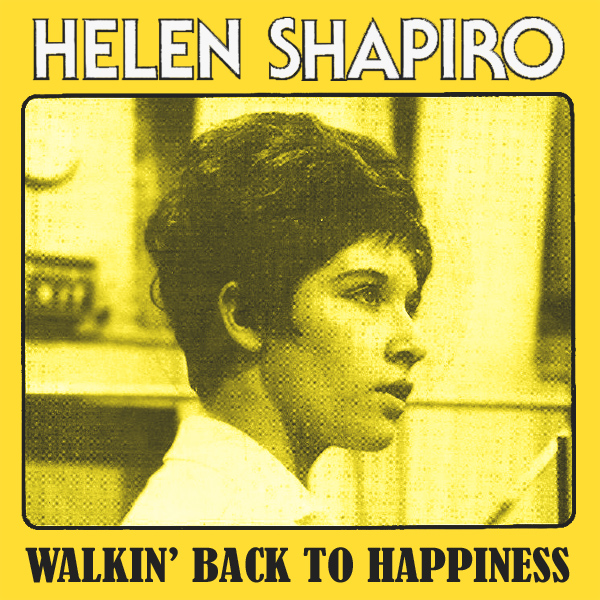 Original Cover Artwork of Helen Shapiro Walkin Back To Happiness