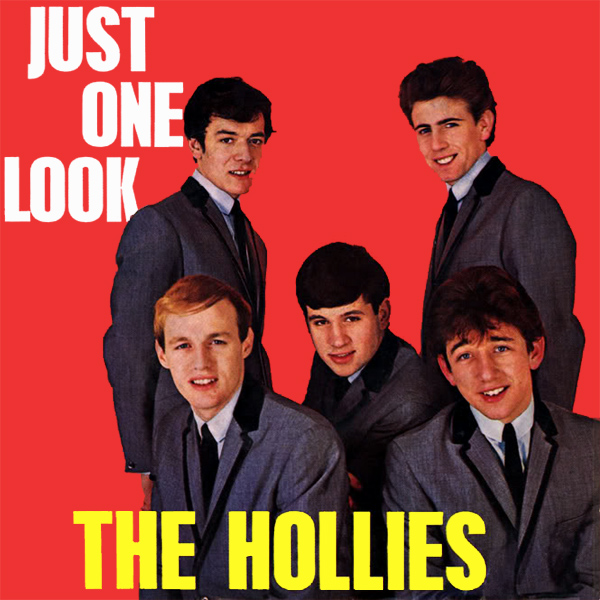 Original Cover Artwork of Hollies Just One Look