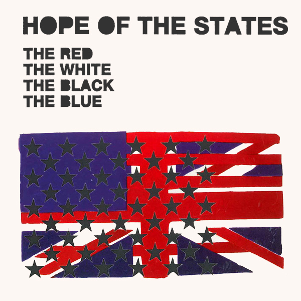 Original Cover Artwork of Hope Of The States Red White Black Blue