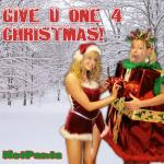 Original Cover Artwork of Hot Pantz Give U One 4 Christmas