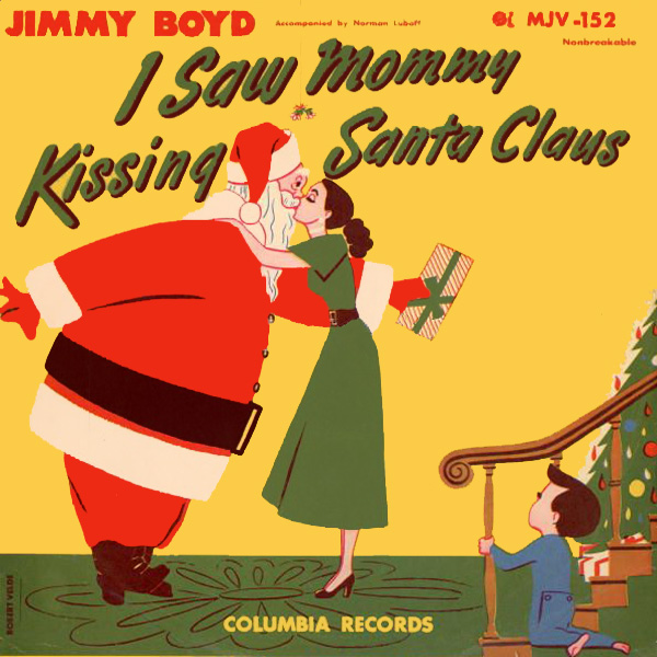 i saw mommy kissing santa claus 1