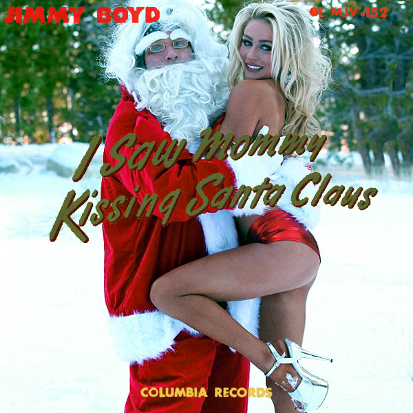 i saw mommy kissing santa claus 2