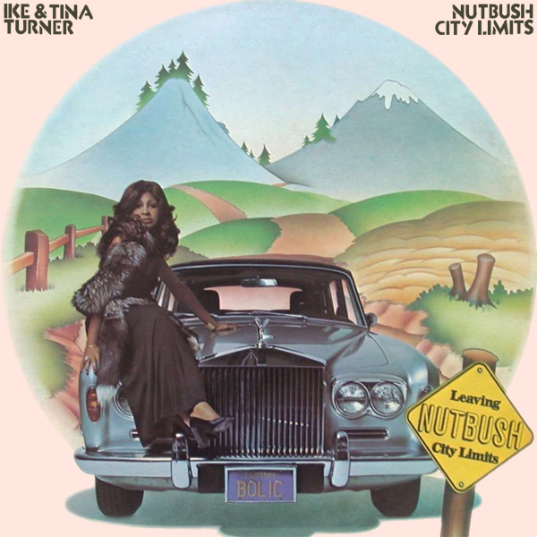 Original Cover Artwork of Ike Tina Turner Nutbush City Limits