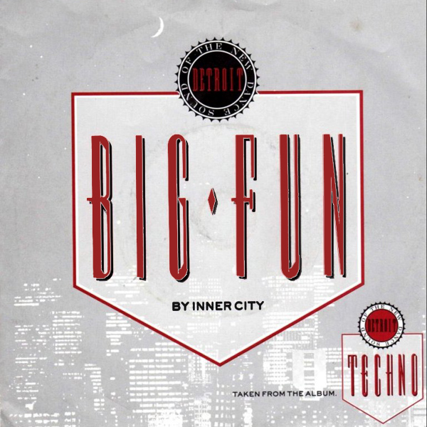 Original Cover Artwork of Inner City Big Fun
