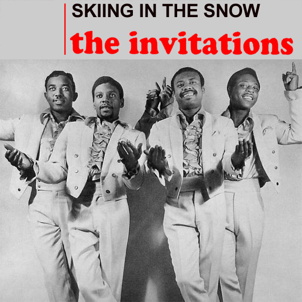 invitations skiing in the snow 1