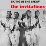 Original Cover Artwork of Invitations Skiing In The Snow