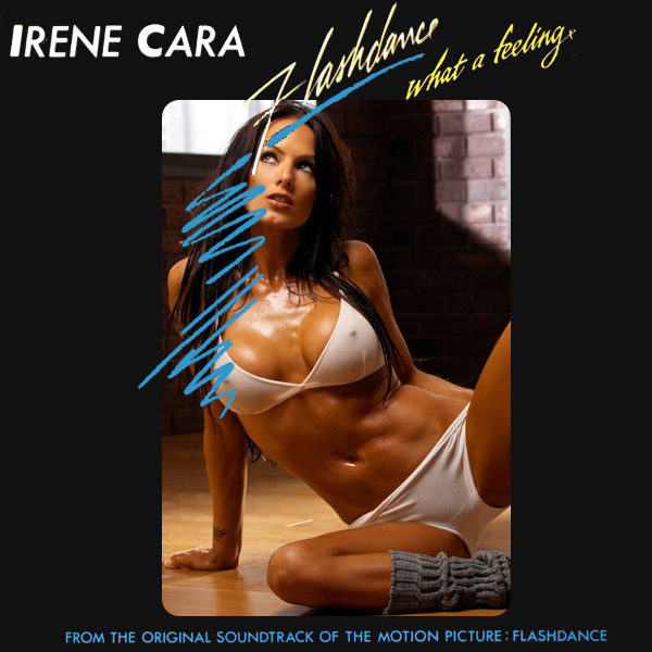 Cover Artwork Remix of Irene Cara Flashdance