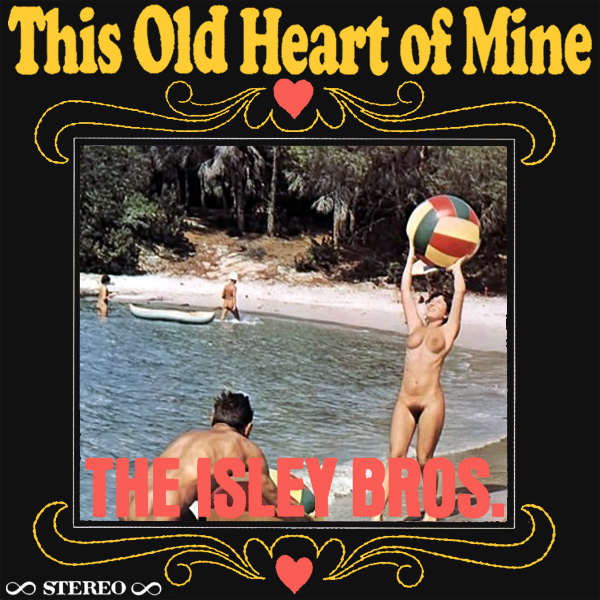 Cover Artwork Remix of Isley Brothers Heart Of Mine