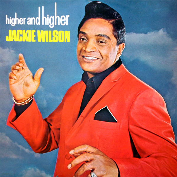 Original Cover Artwork of Jackie Wilson Higher And Higher