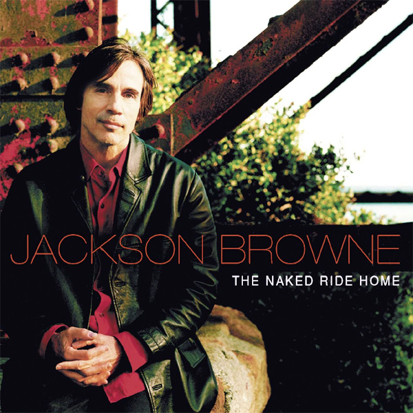 Original Cover Artwork of Jackson Browne The Naked Ride Home