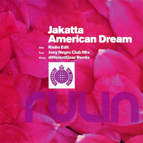 Original Cover Artwork of Jakatta American Dream