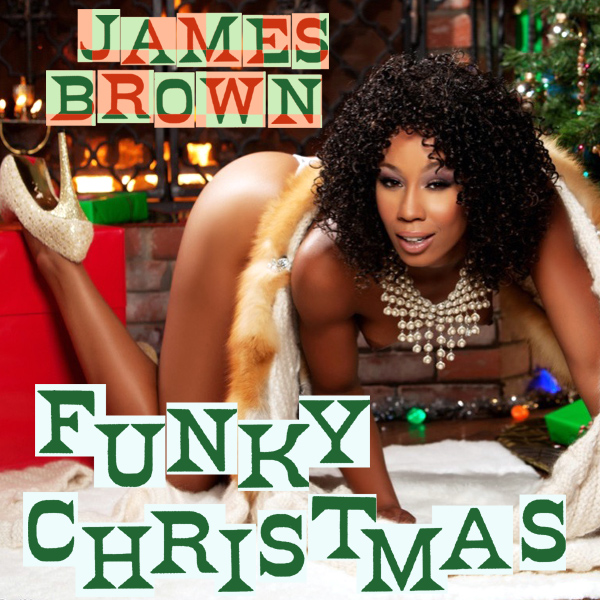 Cover Artwork Remix of James Brown Funky Xmas