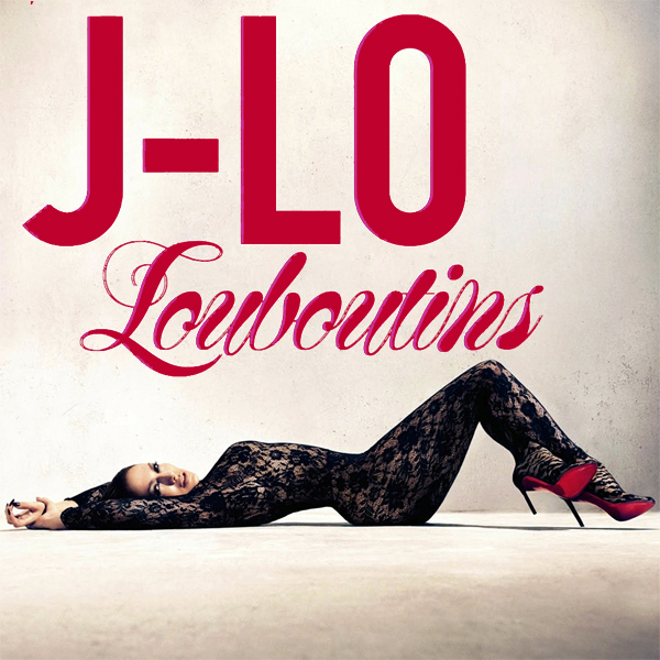 Original Cover Artwork of Jennifer Lopez Louboutins