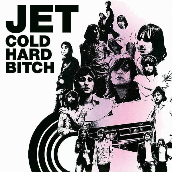 Original Cover Artwork of Jet Cold Hard Bitch