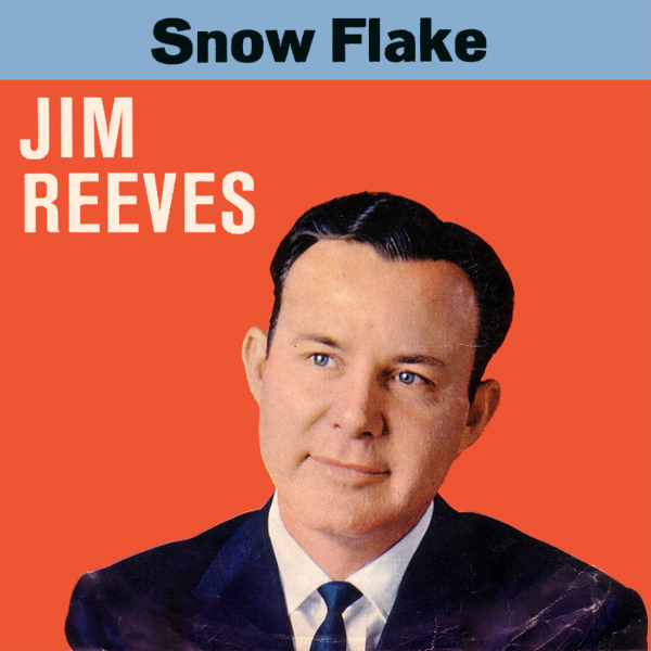 Original Cover Artwork of Jim Reeves Snow Flake